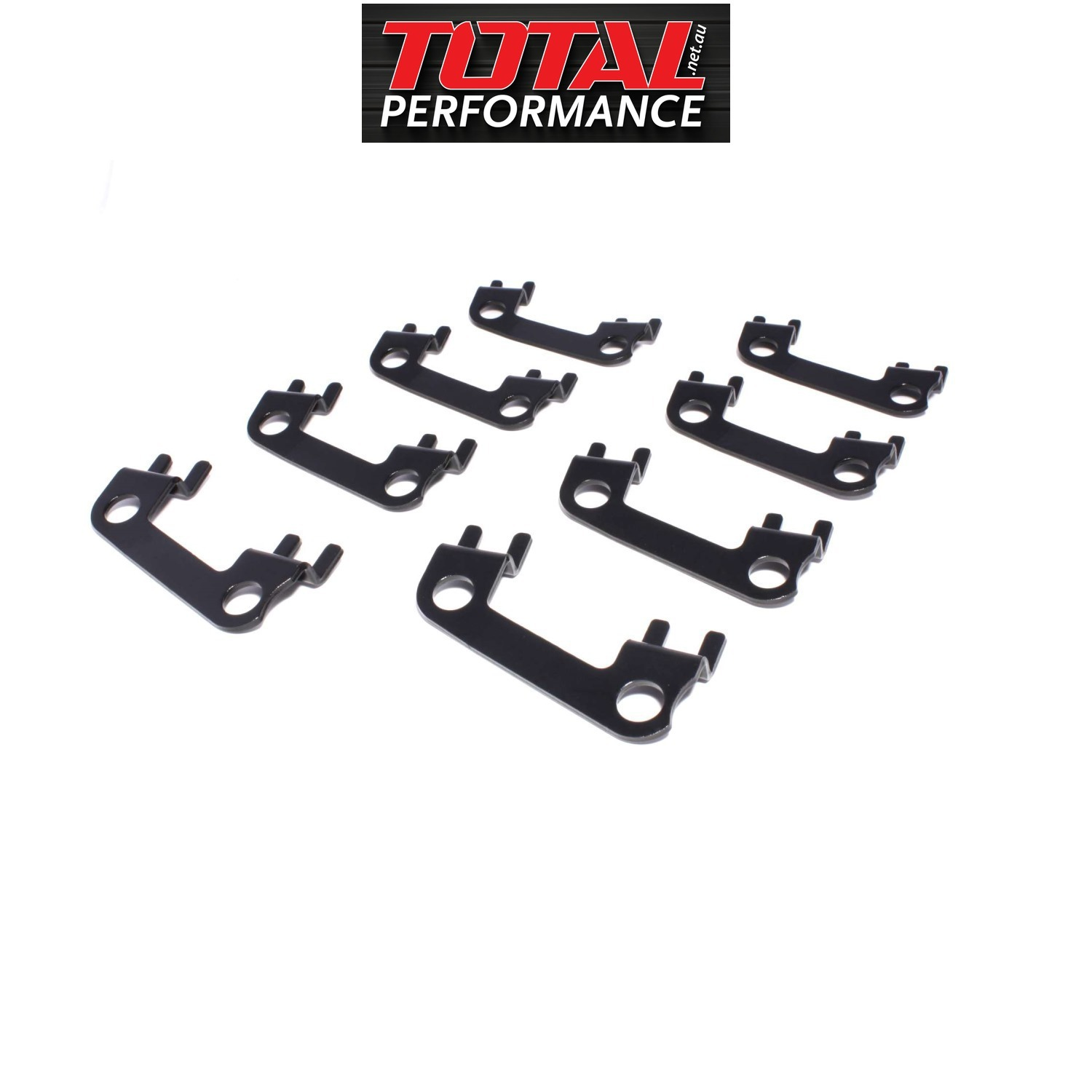 COMP Cams 4856-8 Flat 1 Piece Guide Plate Set GM LS w// 3//8 Pushrod and 8mm Stud