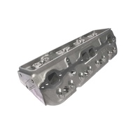12059 Pro Action 23 Degree SBC 220cc Bare Aluminum Cylinder Head