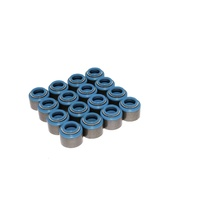 "516-16 Set of 16 Metal Viton Valve Seals for .530"" Guide Size, 5/16 Valve Stem"