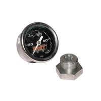 LSX/LSXR/LSXRT EFI Fuel Pressure Gauge Kit - 0-100 PSI LIQUID FILLED + FITTING