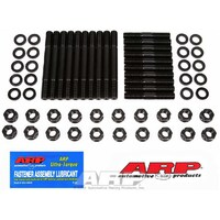 Cylinder Head Stud Kit,Cylinder Head Stud Kit, 1/2 in Studs, Hex Nuts, Chromoly, Black Oxide, Small Block Ford, Kit