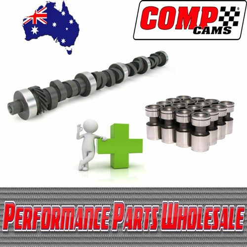 351C 393 408 Cleveland Race Comp Cam 285B-6 Oval Track/Torque/Drag + Lifters